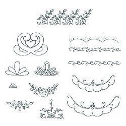 Patchwork fondant kiszúró – Virág dekoráció
