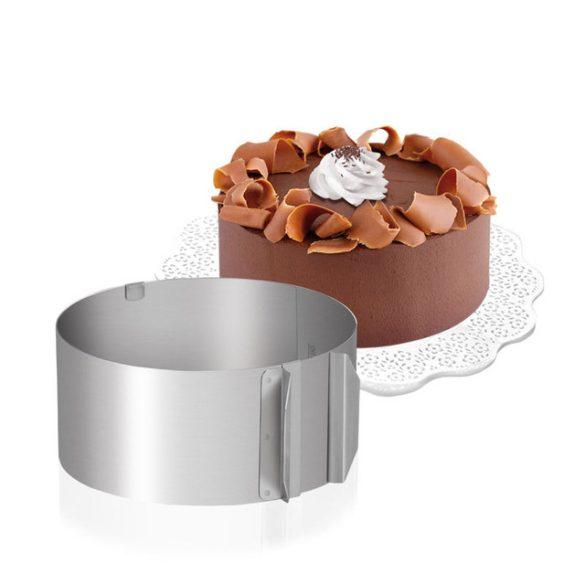 Állítható tortaforma - Kerek
