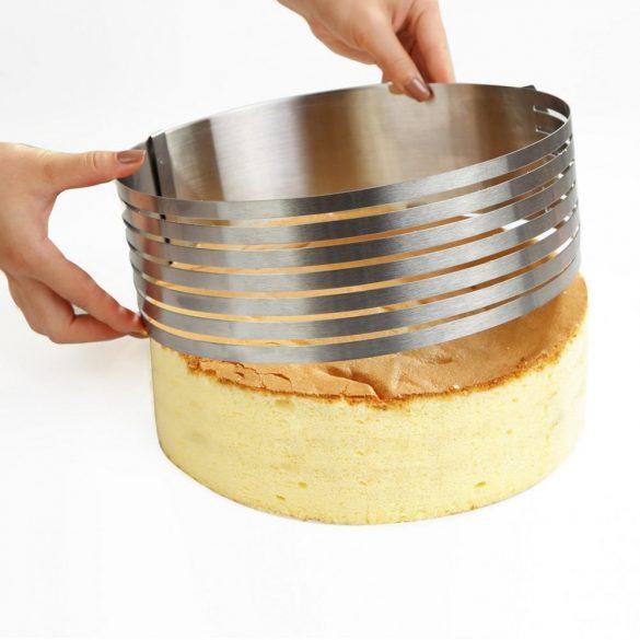 Torta szeletelő - Nagy