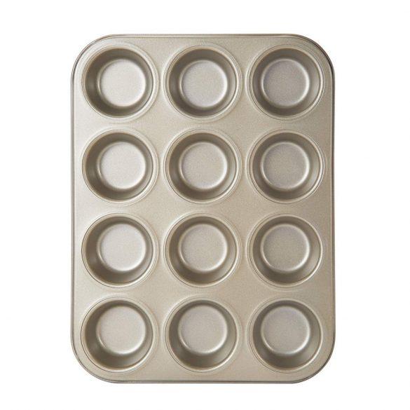 12 részes tapadásmentes bevonatú muffin forma