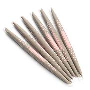 6 darabos fondant mintázó toll készlet