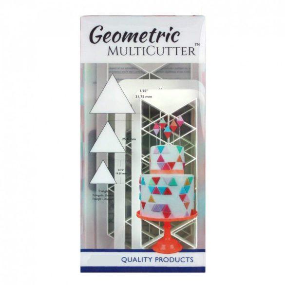 Fondant kiszúró - Geometrikus minták - Háromszög