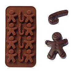 Karácsonyi bonbon forma - Mézi és nyalóka