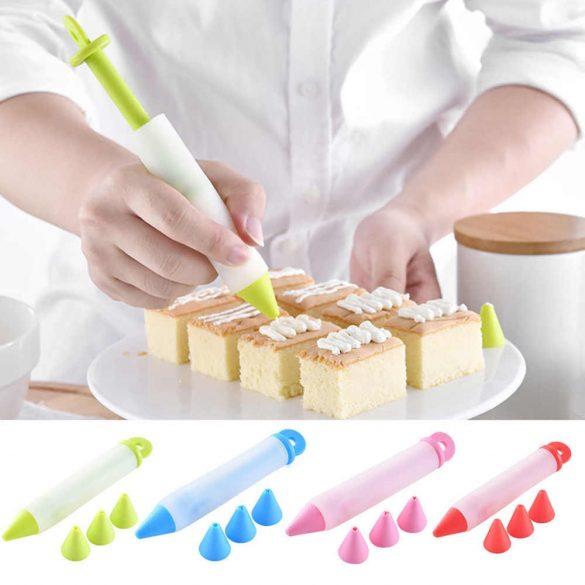 Torta díszítő szilikon toll