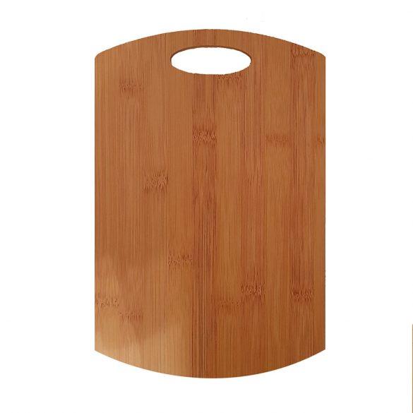 Bambusz vágódeszka - Nagy