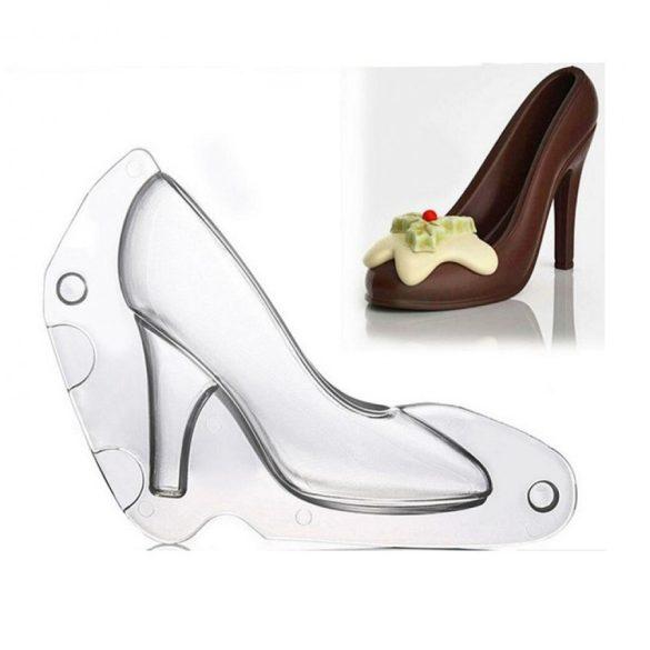Csokoládé öntőforma - Női cipő