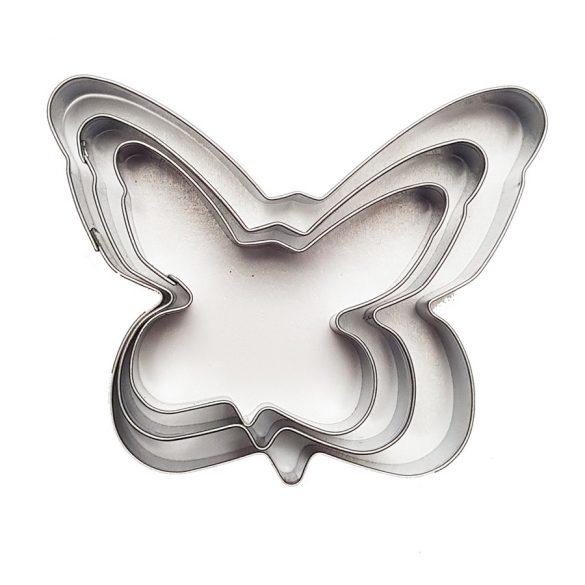 3 darabos süteménykiszúró - Pillangó