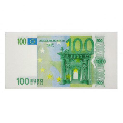 100 Euró szalvéta
