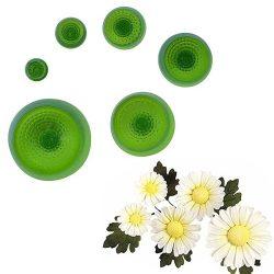 6 darabos marcipán és fondant mintázó – Virág bibe