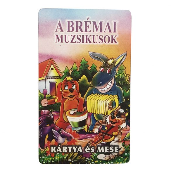 Mese és kártyajáték – A brémai muzsikusok
