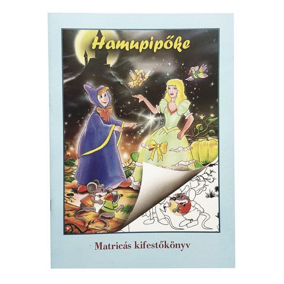 Matricás olvasó és kifestőkönyv – Hamupipőke