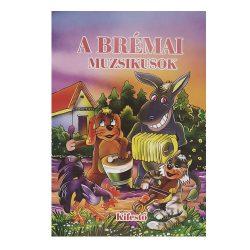 Olvasó és kifestőkönyv – A brémai muzsikusok