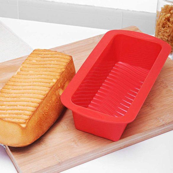 Szilikon forma, szilikon kenyér sütőforma