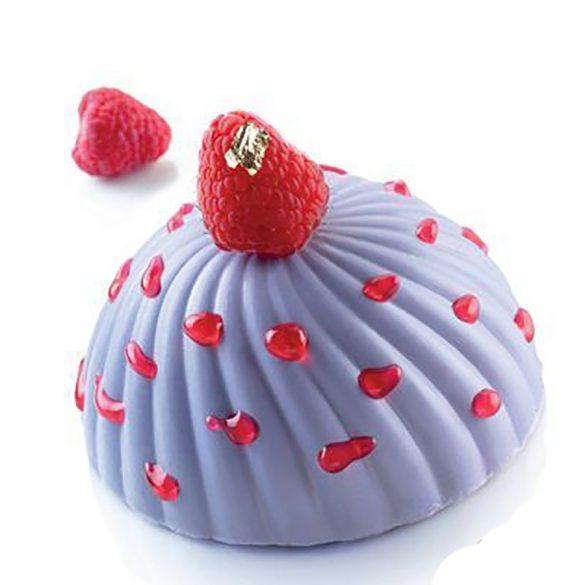 6 részes szilikon forma – Parfum – Hullámos muffin