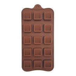 Szilikon bonbon forma – Üreges kocka