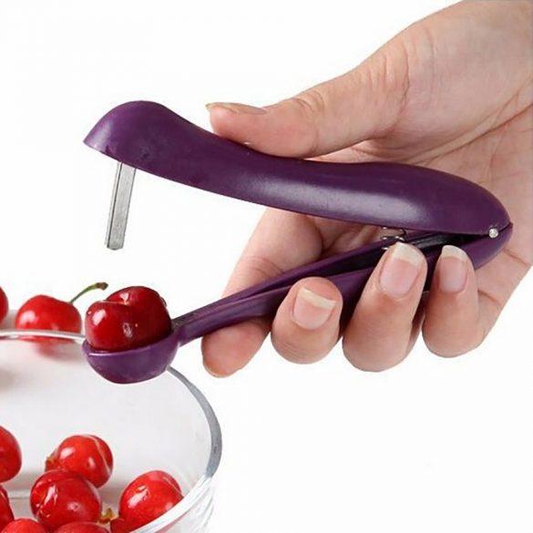Műanyag kézi meggymagozó és olíva magozó