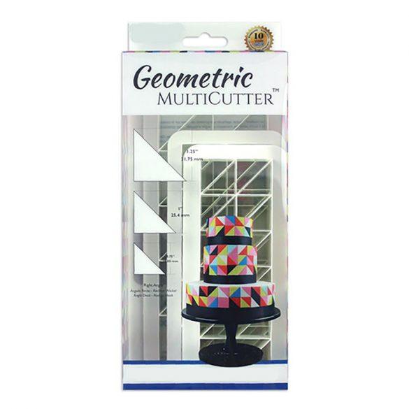 Fondant kiszúró – Geometrikus minták – Derékszögű háromszög