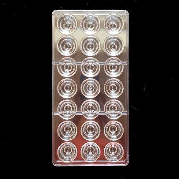 Polikarbonát bonbon forma – Gúla
