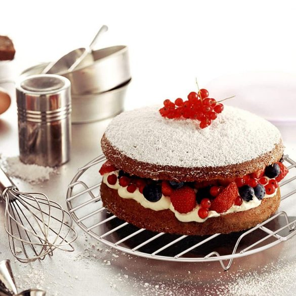 Torta és sütemény hűtő rács