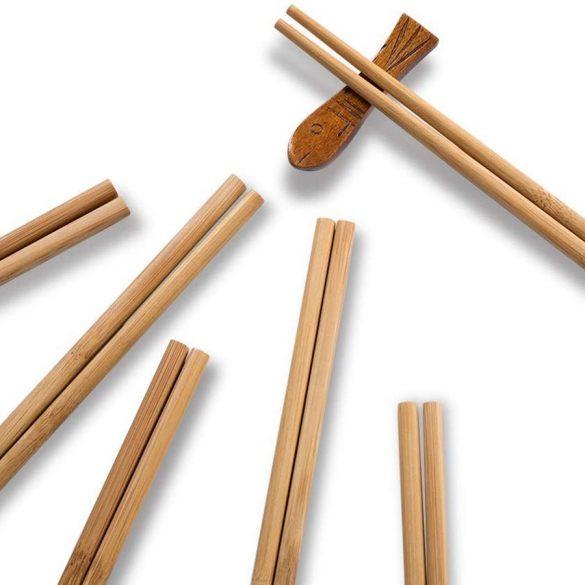 10 pár bambusz evőpálcika
