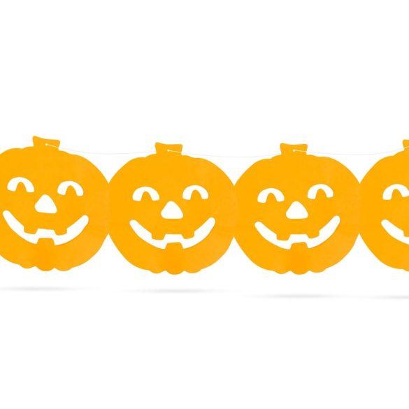 Halloween-i papír girland – Tök minta