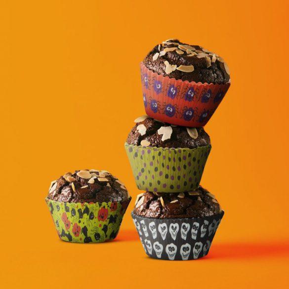 100 darabos muffin papír – Halloween