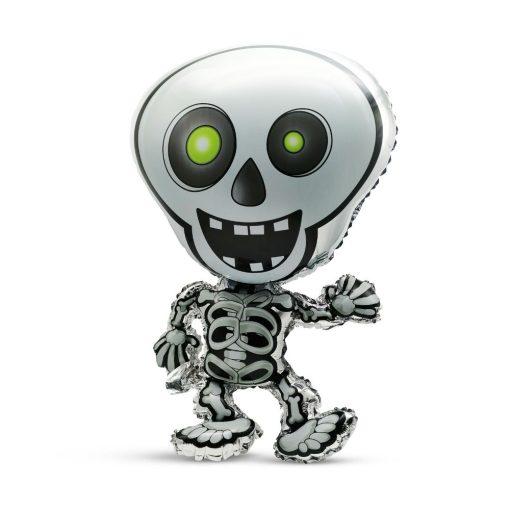 Halloween-i fólia lufi - Csontváz