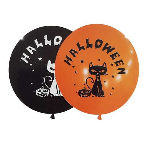 5 darabos latex lufi – Halloween-i macskák