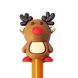 Karácsonyi toll – Barna rénszarvas