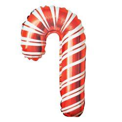 Karácsonyi fólia lufi – Karácsonyi nyalóka – Lollipop