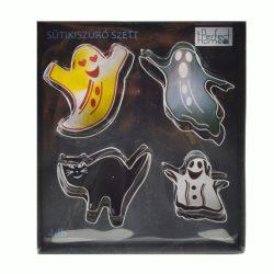 Halloween süteménykiszúró – Szellemek és macska