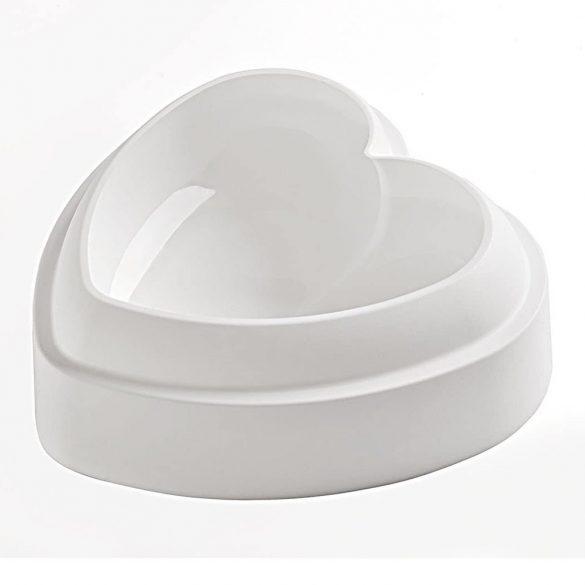 Szív alakú szilikon forma