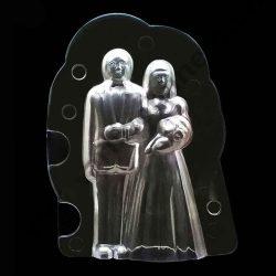 Csokoládé öntőforma – Házaspár, esküvő