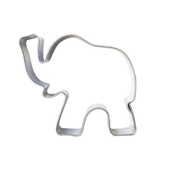 Fém süteménykiszúró – Elefánt