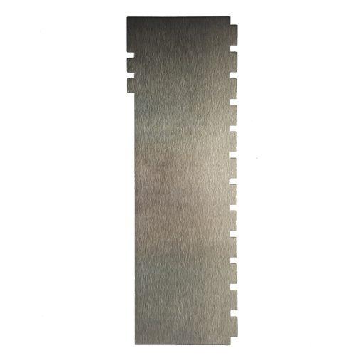 Két oldalas fém tortaformázó, mintás habkártya – Négyszög