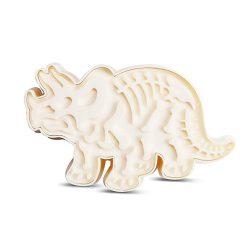 Műanyag süteménykiszúró – Dinoszaurusz, Triceratops