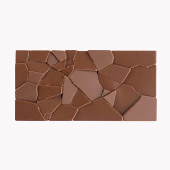 Polikarbonát forma – Táblás csokoládé – Törött csokoládé