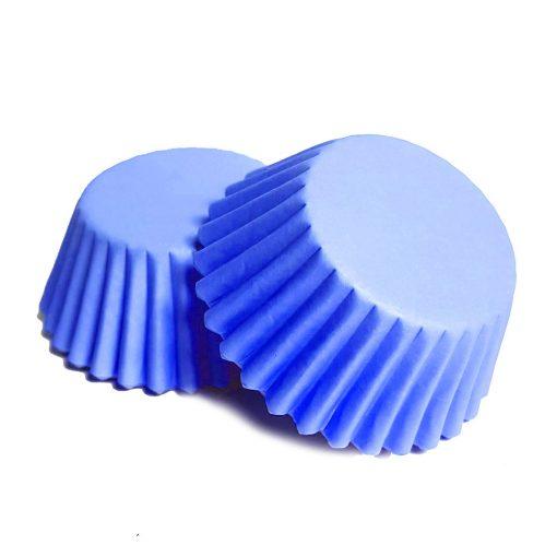 100 darabos muffin papír – Kék