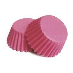 100 darabos muffin papír – Rózsaszín
