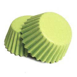 100 darabos muffin papír – Zöld