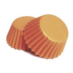 100 darabos muffin papír – Narancssárga