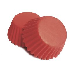 100 darabos muffin papír – Piros