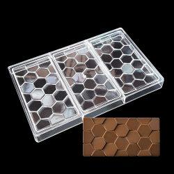 Polikarbonát forma – Táblás csokoládé – Hatszög