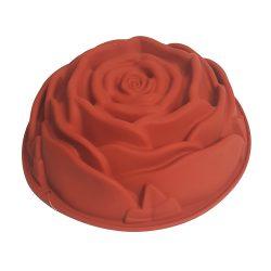 Szilikon forma – Rózsa