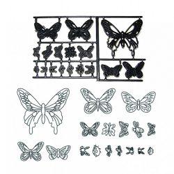 Patchwork fondant kiszúró – Pillangók és bogarak