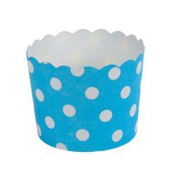 12 darabos muffin papír, cupcake papír – Kék