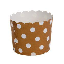 12 darabos muffin papír, cupcake papír – Arany