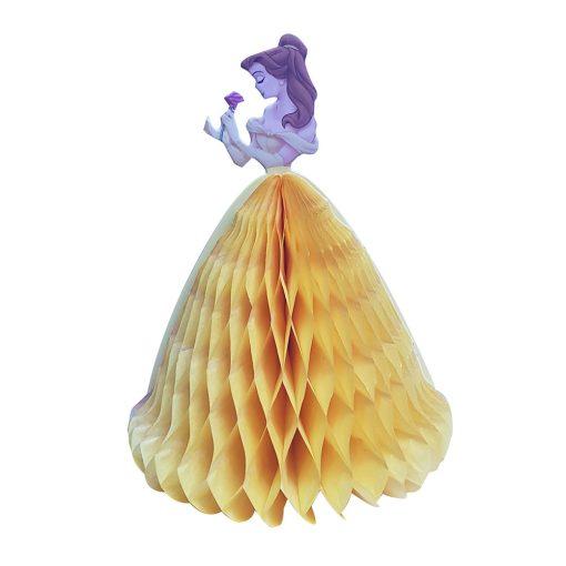 Méhsejt dekoráció, torta dekoráció – Hercegnő - Sárga
