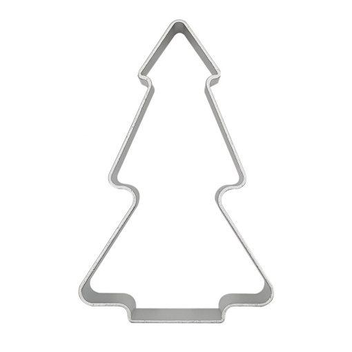 Alumínium süteménykiszúró – Fenyőfa, karácsonyfa