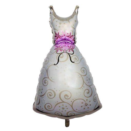 Fólia lufi – Esküvő – Menyasszonyi ruha